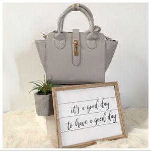 Urban Expressions Light Gray Hand Bag